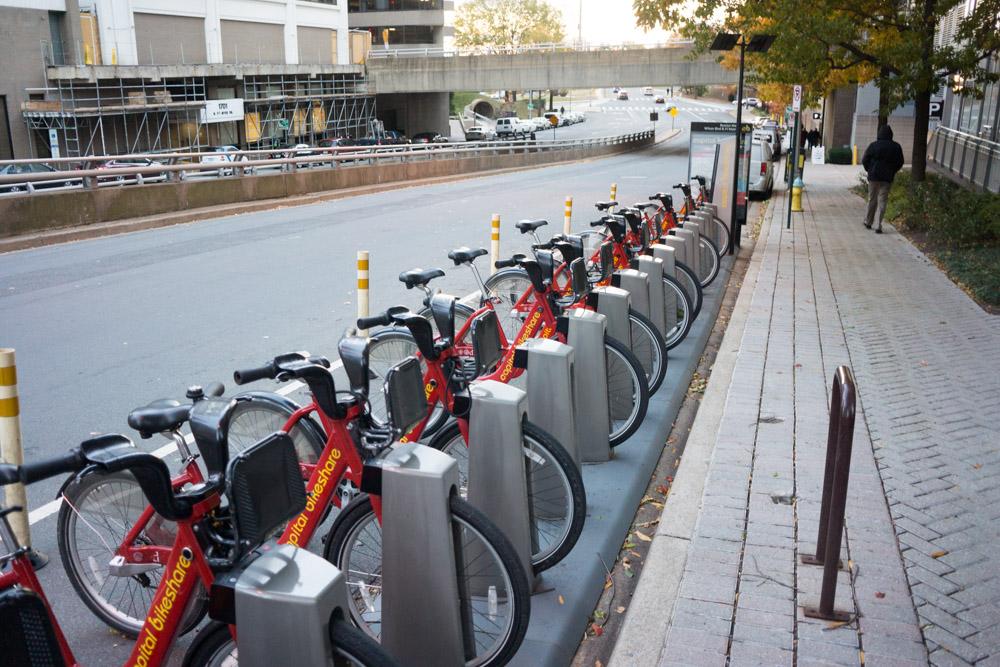 マンハッタン市内のレンタサイクル