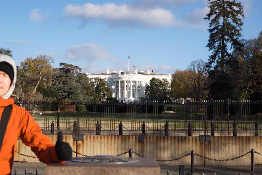 ホワイトハウスと私